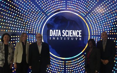 Faculty and administrators visit Data Science Institutes